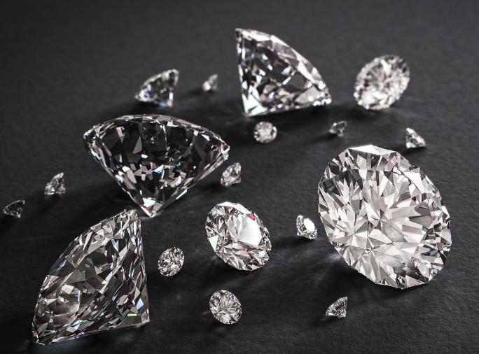 Diamants taillés haute joaillerie V2V