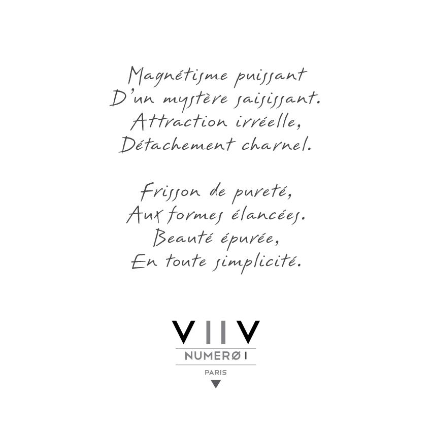 Poeme Bague numero 1 - V2V Paris Joaillerie
