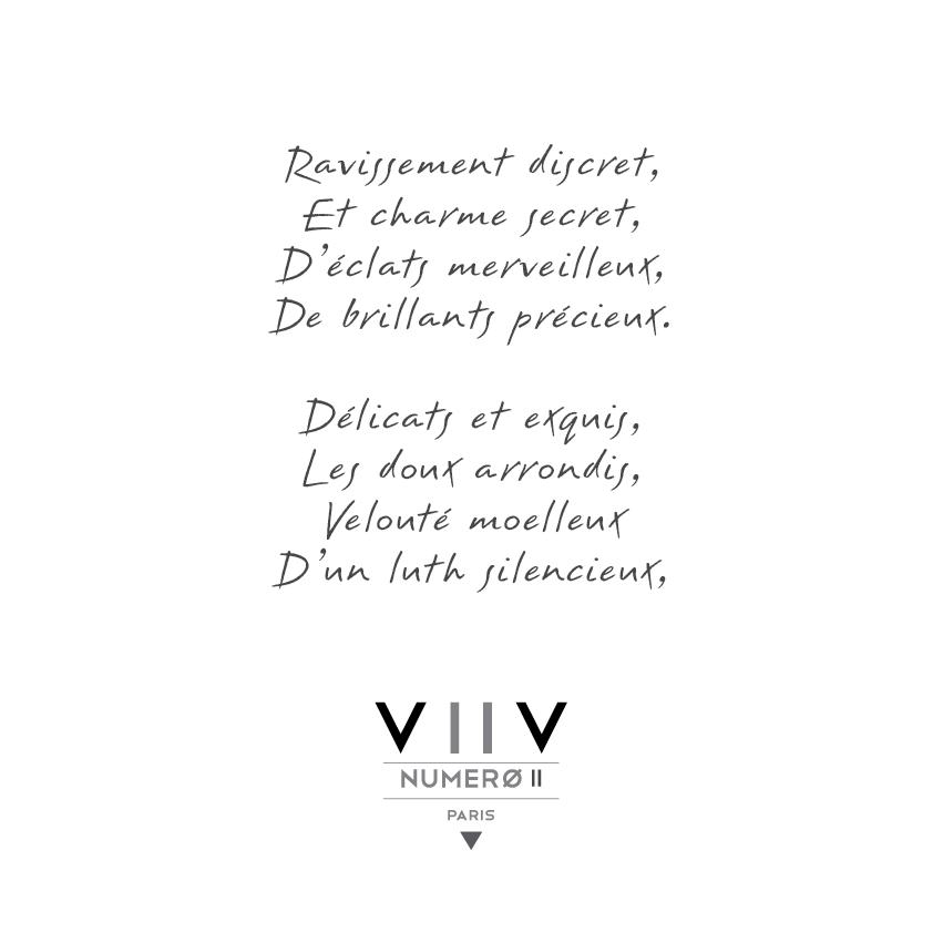 Poeme Bague or blanc diamants - V2V Paris Joaillerie